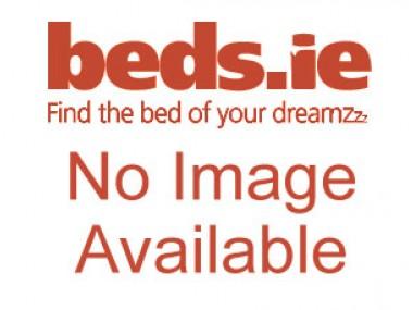 Kaydian 4ft6 Linden TV Bed - Black Leather