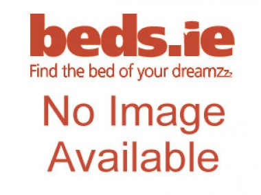 Apollo 4ft Glitz Ice White Jumbo Ottoman Base